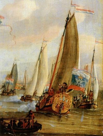 Морской бой на заливе Эй в честь царя Петра I.jpg
